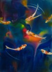 Koi Dance Limited Edition Giclee Print 14×11